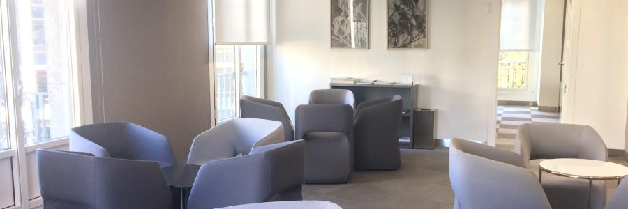 ARM Notarios Barcelona sala de espera